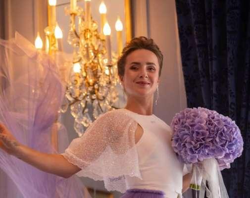 Невероятная грация. Свитолина похвасталась свадебным платьем. Фото