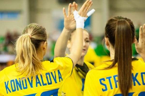Сборная Украины по гандболу проиграла Франции в матче отбора Евро-2022