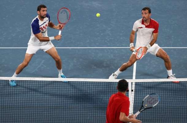 Хорватські тенісисти взяли дві медалі в парному чоловічому розряді на Олімпіаді в Токіо