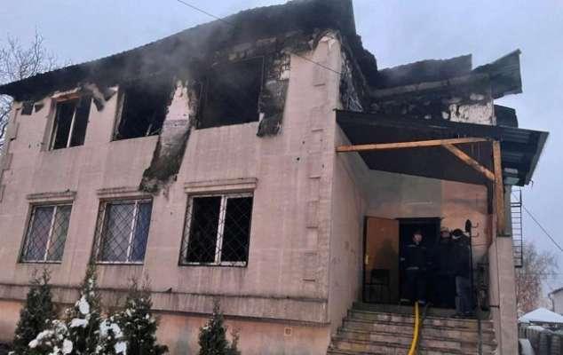Пожар в доме престарелых в Харькове: назвали официальную причину