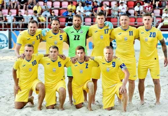 Сборная Украины по пляжному футболу выиграла Кубок Независимости-2021