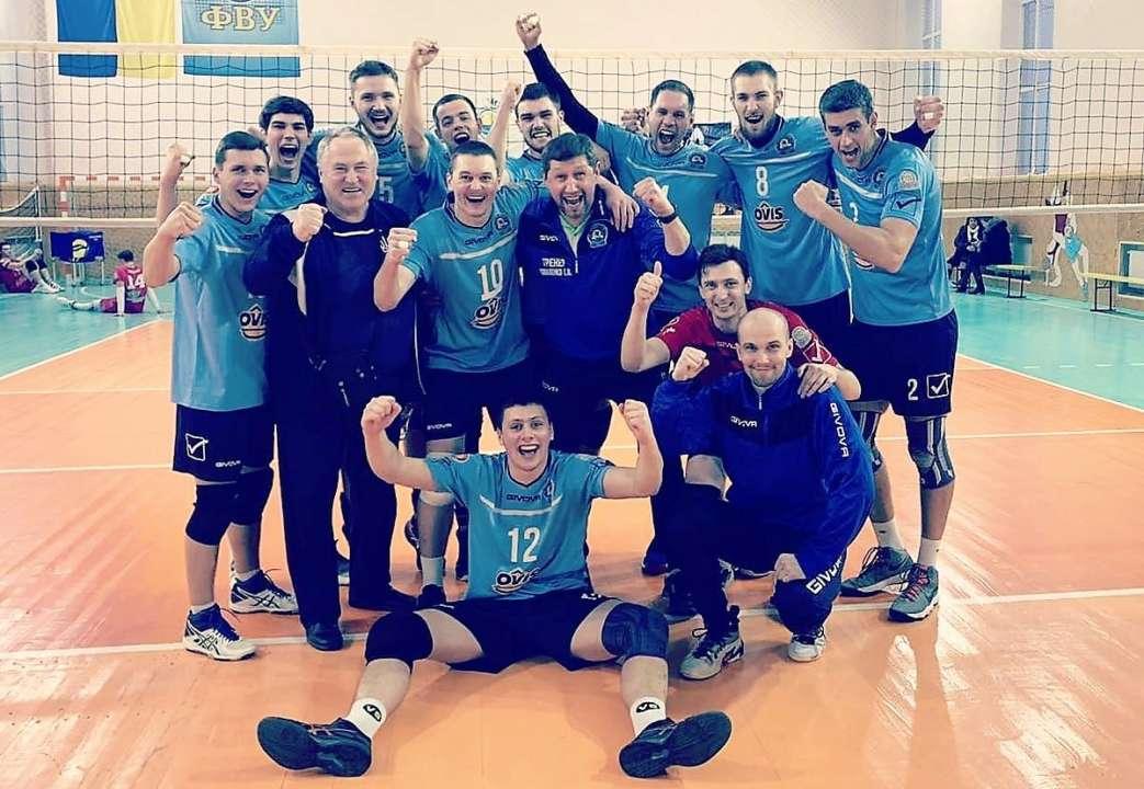 Определились все полуфиналисты чемпионата Украины среди мужчин