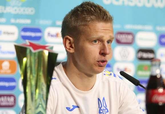 УЄФА визнав Зінченко кращим гравцем матчу зі Швецією