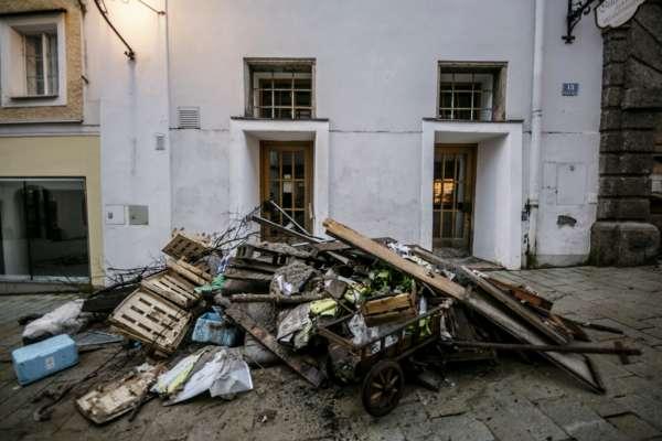 Катастрофічні повені в Європі: стихійне лихо дісталося Австрії. Фото