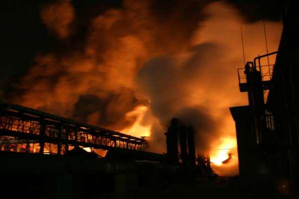 Назвали предположительную причину аварии на химическом заводе под Ровно