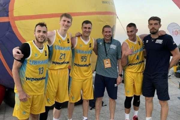 Определен состав сборных Украины на чемпионат Европы по баскетболу 3х3