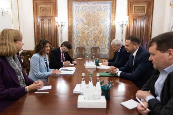 Ермак встретился с заместителем помощника госсекретаря США