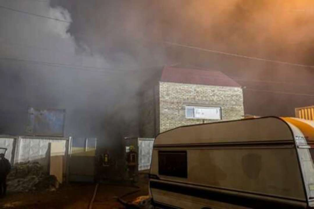Смертельна пожежа в Києві: загорілася сауна