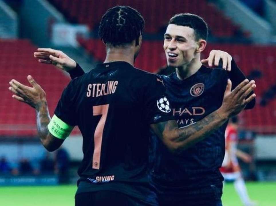 Манчестер Сіті працює над продовженням контрактів з двома гравцями збірної Англії