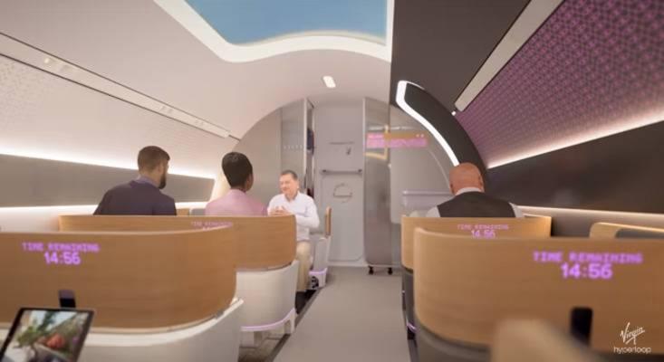 Транспорт майбутнього: Virgin Hyperloop показала вакуумний потяг