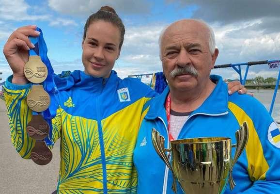 Четверта медаль на чемпіонаті Європи з веслування. Лузан встановила рекорд України