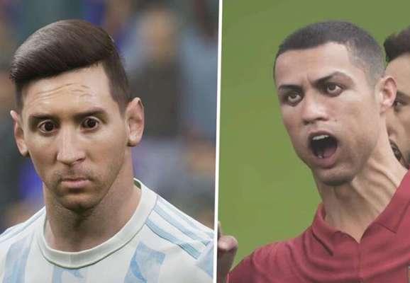 Новый футбольный симулятор eFootball стал мемом из-за ужасной графики (ФОТО + ВИДЕО)