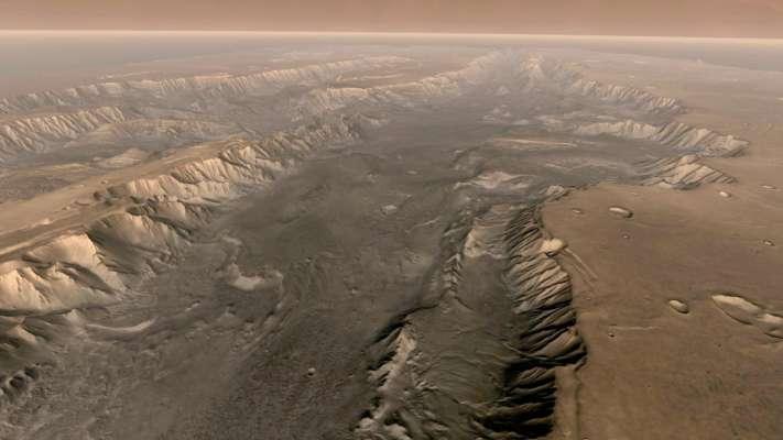 Вчені виявили на Марсі сліди недавньої вулканічної активності