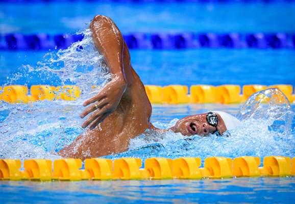 Украинец Романчук – чемпион Европы по плаванию вольным стилем на дистанции 1500 метров