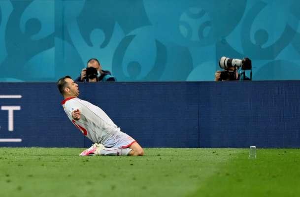 Як же символічно. Пандєв забив перший гол Північної Македонії в історії чемпіонатів Європи