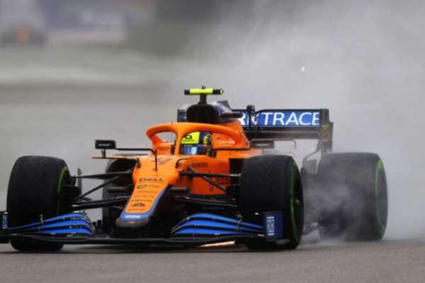 Норріс виграв поул-позишн Гран-прі Росіїї, Ферстаппен стартуватиме останнім