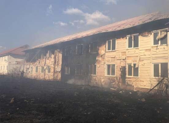 Масштабный пожар на Закарпатье: огнем охвачены два дома