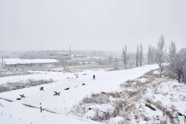 В  Карпатах выпало 20 см снега