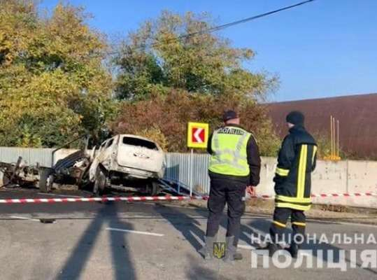 На Закарпатье в ДТП погибли пограничник и патрульный. Фото
