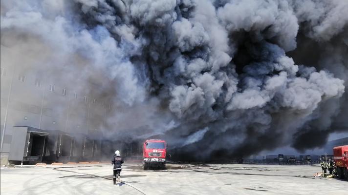 В Одесской области горели склады АТБ