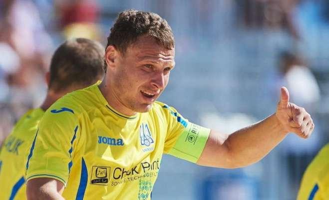 Пляжный футбол. Украина проиграла Португалии в серии пенальти