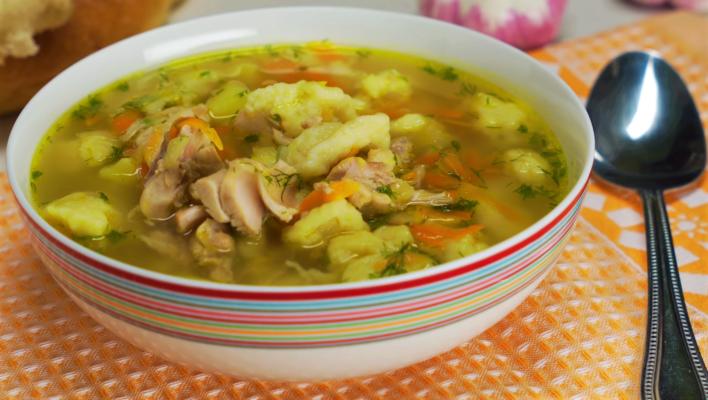 Суп с галушками: рецепт невероятно вкусного и сытного блюда