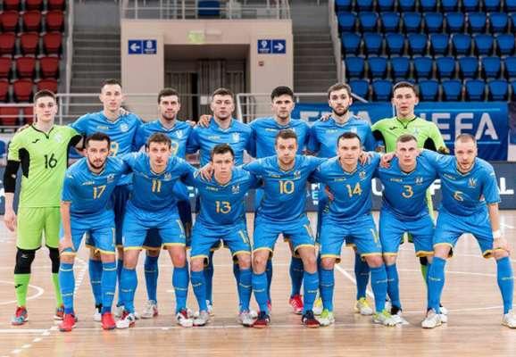 Україна знову розгромила Данію у відборі на Євро-2022 з футзалу