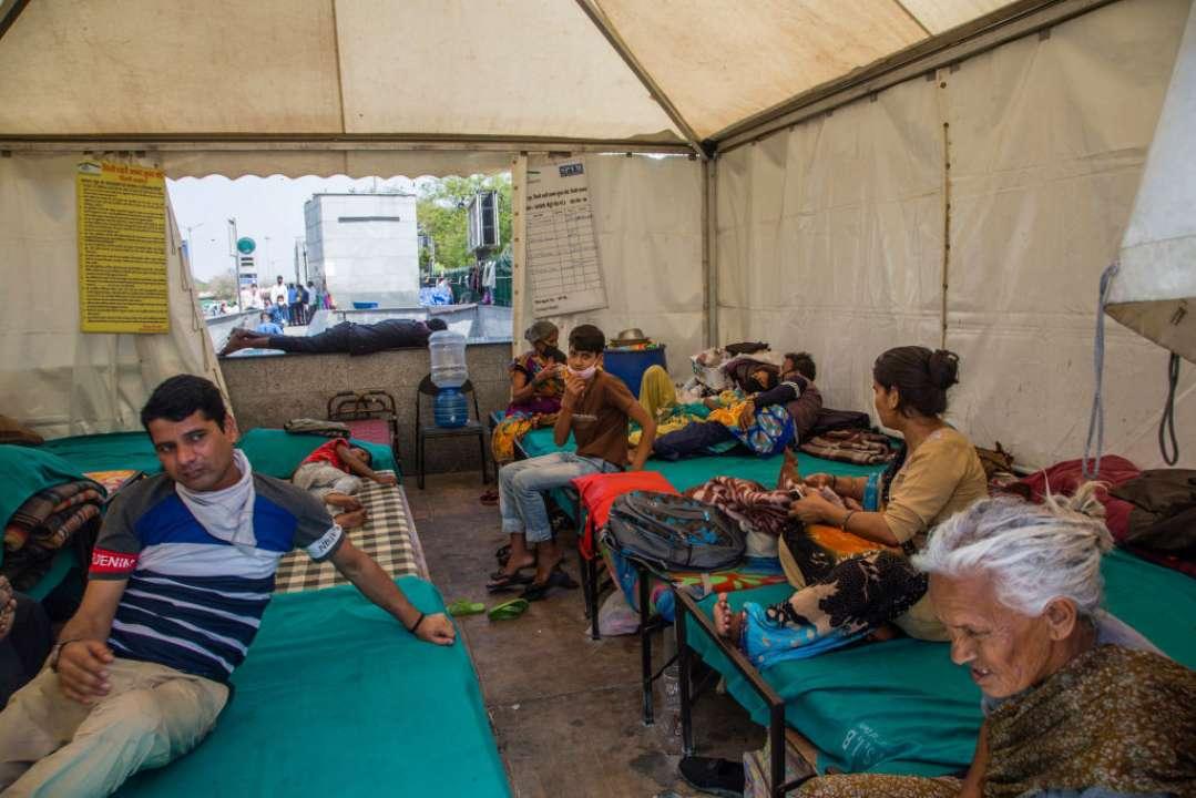 В результате пожара в индийской больнице погибло 18 пациентов