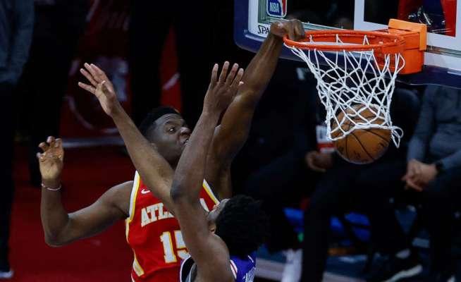 Данк Капелы через Эмбиида в топ-5 дня в НБА