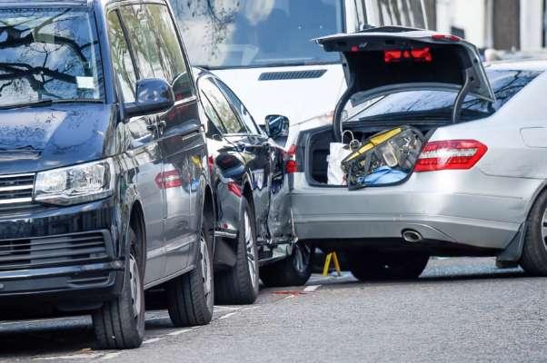 9-летний ребенок за рулем Tesla попал в аварию