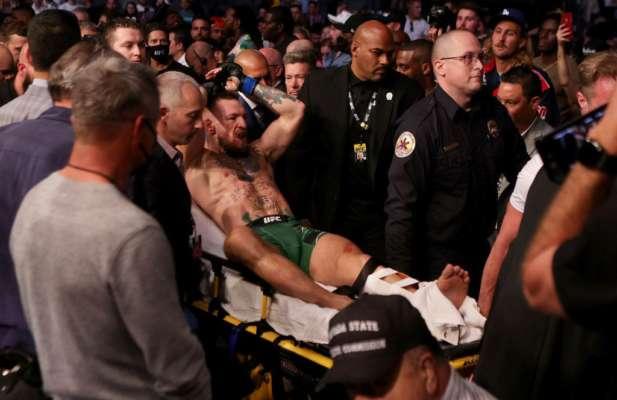 Макгрегора выписали из больницы