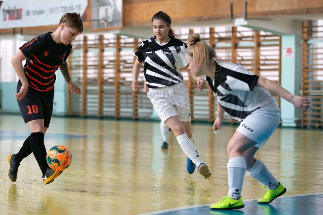 Визначено остаточний розклад команд в жіночому чемпіонаті України з футзалу