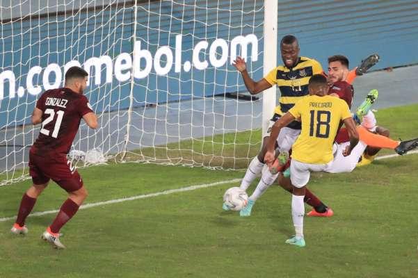 Кубок Америки. Эквадор сыграл вничью с Венесуэлой
