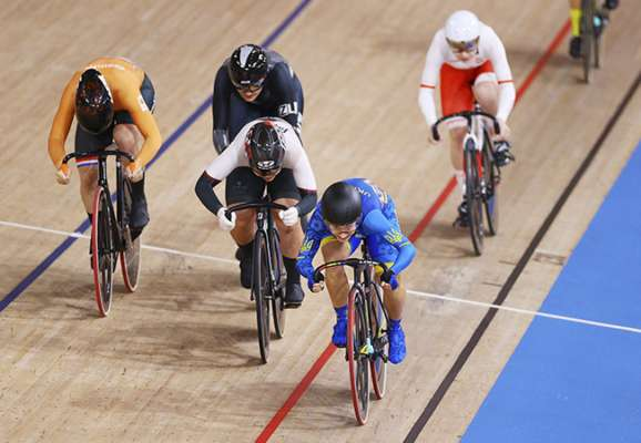 Велотрек. Старікова і Басова пробилися до півфіналу Олімпіади!