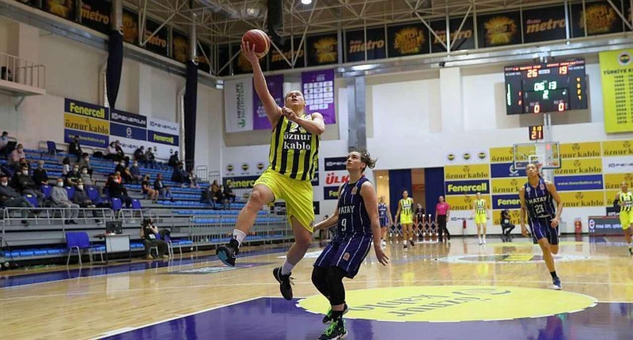 Чудова гра Ягупової вивела Фенербахче в фінал чемпіонату Туреччини