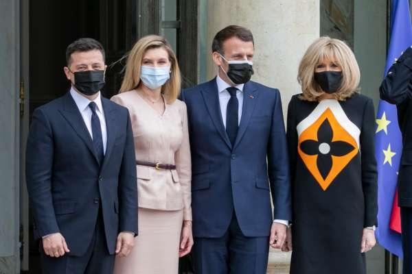 Зеленський зустрівся з Меркель та Макроном: що обговорювали