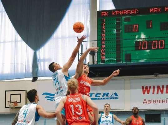 МБК Николаев разгромил Кривбасс в матче Суперлиги