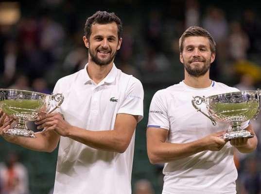 Мектич и Павич из Хорватии стали чемпионами Уимблдона в парном разряде