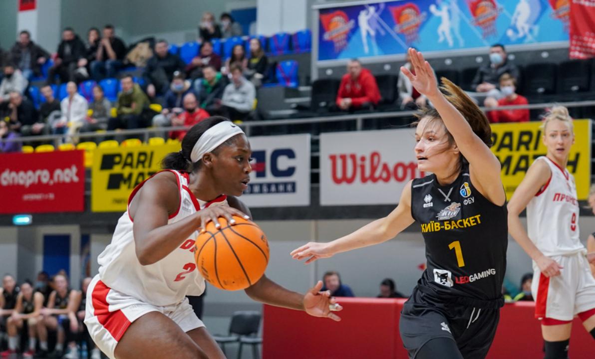 Прометей повел в счете в финале женского чемпионата Украины