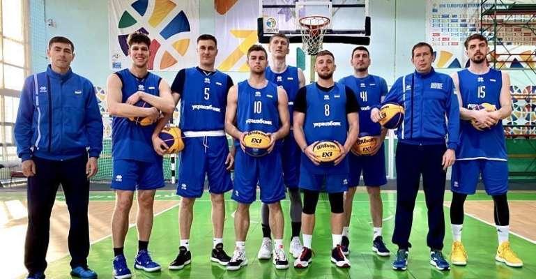 Чоловіча збірна України 3х3 змагатиметься за останню путівку на Олімпіаду