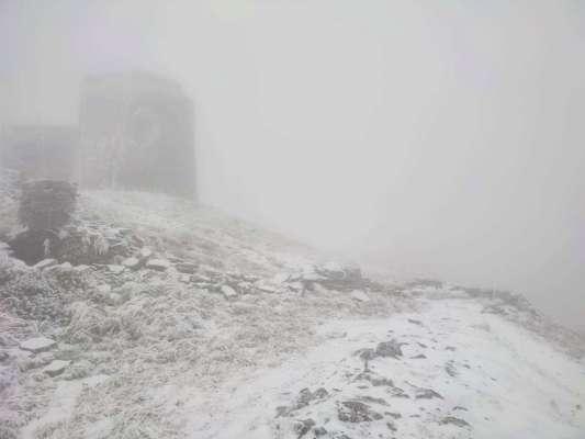 В Карпатах снег и штормовой ветер: спасатели призывают отложить походы в горы. Видео