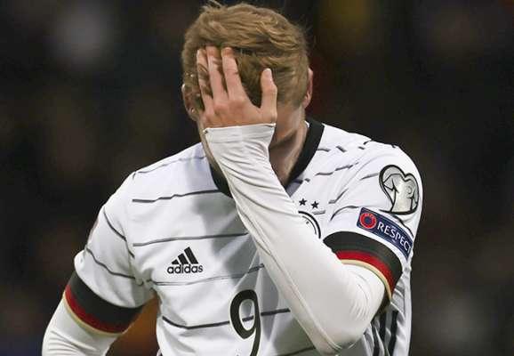 Він знову це зробив. Вернер не влучив по порожніх воротах у матчі з Ісландією (ВІДЕО)