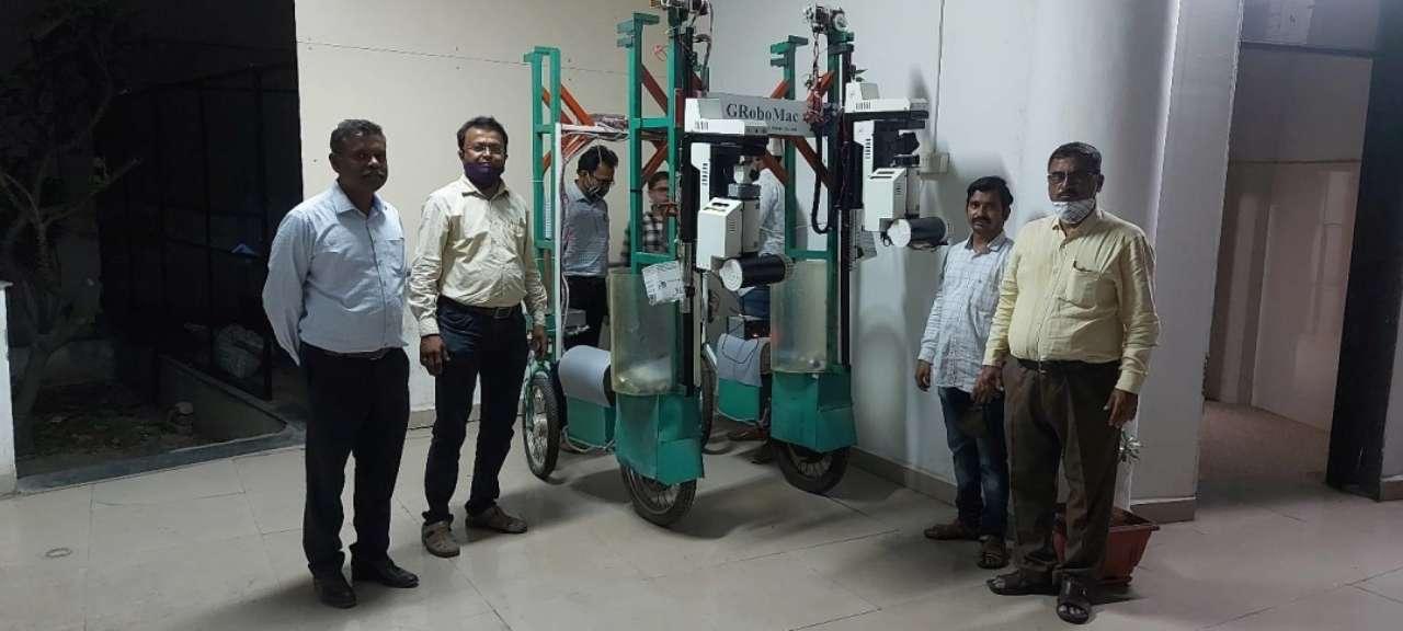 В Індії робот збиратиме бавовну