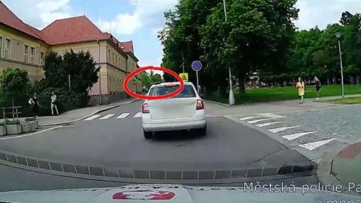 У Чехії жінка забула на даху автомобіля сковорідку з обідом і возила її по місту