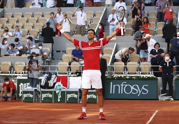 Циципас был очень хорош, но Джокович выиграл в финале Ролан Гаррос