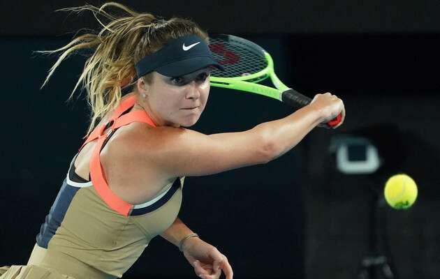 Еліна Світоліна прокоментувала вихід до третього кола Australian Open
