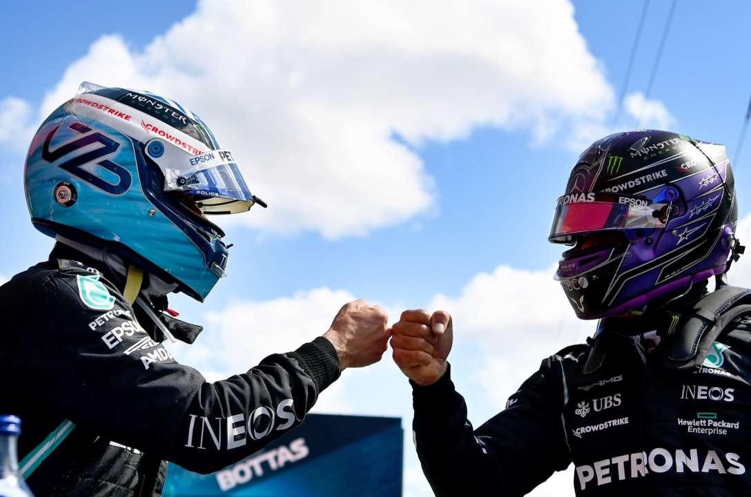 Боттас показав кращий результат у кваліфікації Гран-прі Португалії