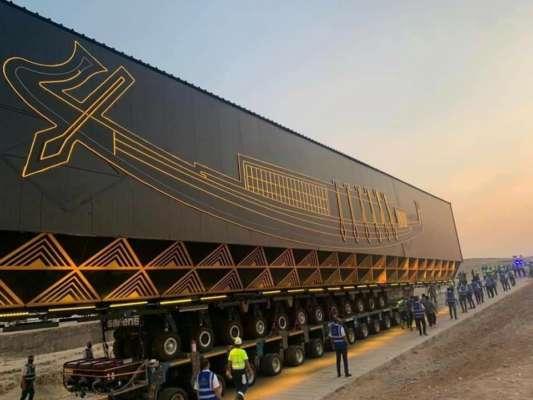 Самый большой и старейший в мире: в Египте в музей перевезли лодку фараона Хеопса