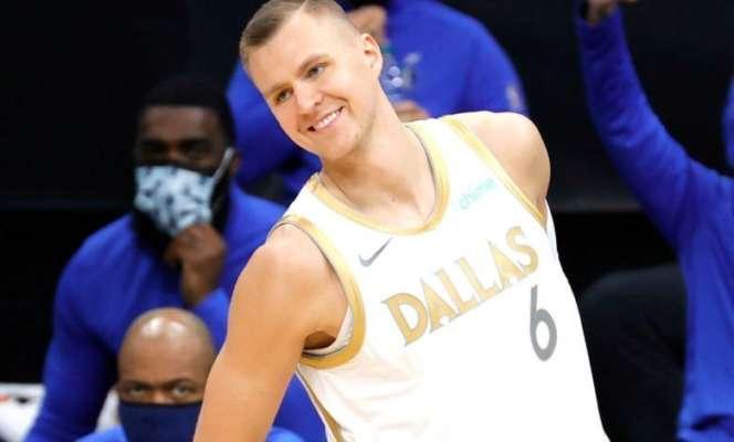 Постерайз Порзингиса в топ-10 дня НБА