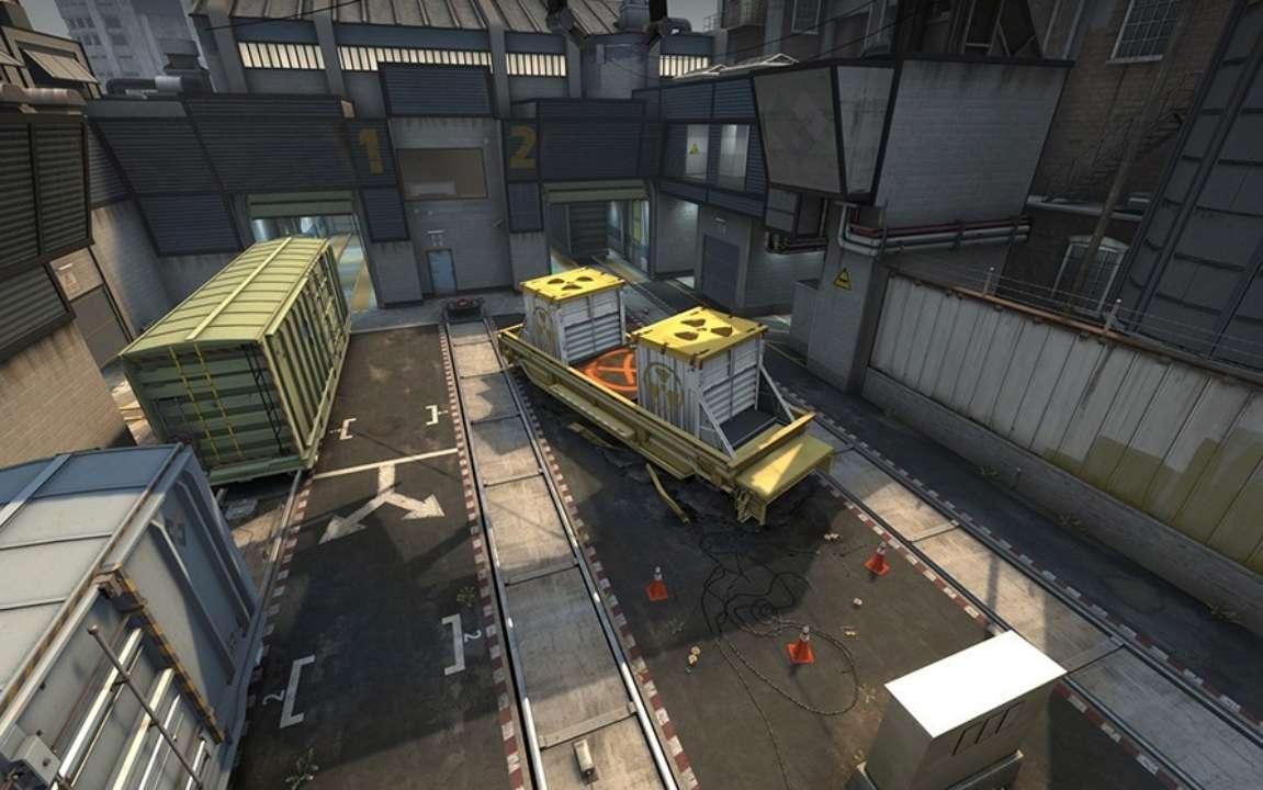 Из CS:GO убрали легендарную карту Train